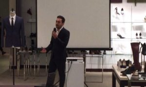 Assistant general manager, Jamil el Hajj, Hugo Boss, key tips, interview tips, interview attire, FashionHumber, Humber College, 2017, Fashion, guest speaker
