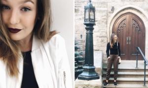 alumni, spotlight, fashion, management, Olivia Crane