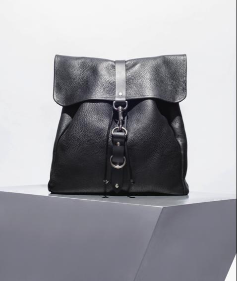 Sonya Lee, Queen West Toronto, handmade handbags, Leather handbag with Buckle