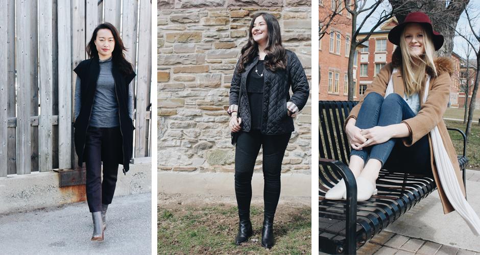 FashionHumber, Streetwear, Andrea, Gabrielle, McKenna, fashion, student, 2017, Campus street style